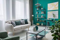 Aranżacja salonu w bloku – małe może być piękne