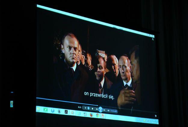 Nagranie spotkania Tusk-Putin-Szojgu z tłumaczeniem na stronie MON
