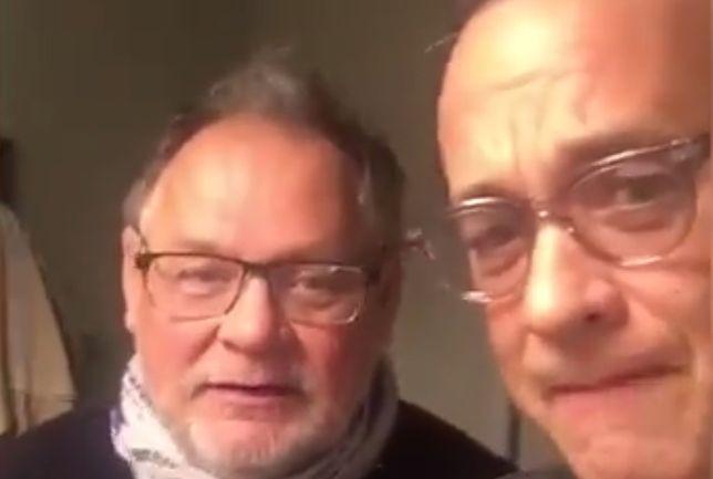 """Tom Hanks śpiewa """"Sto lat"""" dla Polki, która ofiarowała mu malucha"""