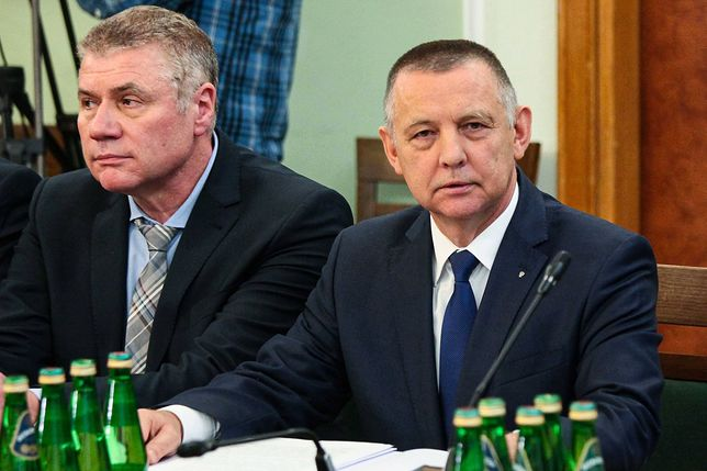 Prezes NIK Marian Banaś na posiedzeniu Sejmowej Komisji ds. Kontroli Państwowej