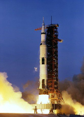Start rakiety Saturn V