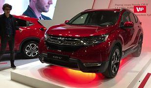 Nowa Honda CR-V na Poznań Motor Show 2018