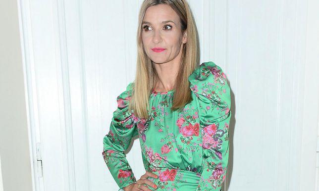 Joanna Koroniewska w botkach na jesień