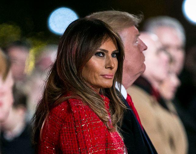 Melania Trump przemówiła do rodaków. Apeluje o spokój i stosowanie się do wytycznych służb