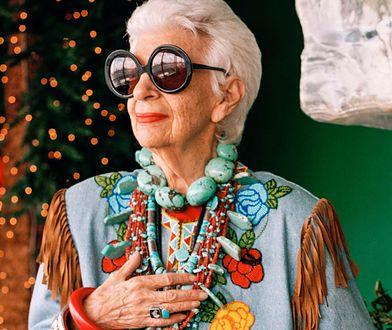 Iris Apfel kończy 96 lat. Jej styl inspiruje kobiety na całym świecie