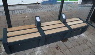 Nowoczesne przystanki autobusowe w Gdyni