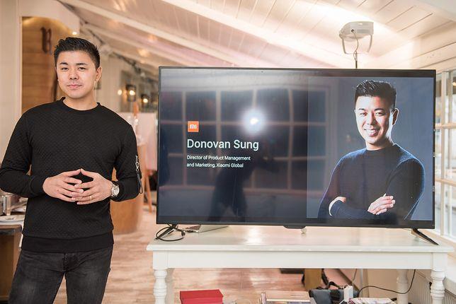Donovan Sang, dyrektor ds. produktu i marketingu Xiaomi