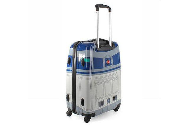 Walizka R2-D2 - oryginalny gadżet na lotnisko