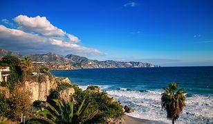 Widok na Morze Śródziemne w Maladze