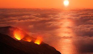 Włochy - niespokojny wulkan Stromboli