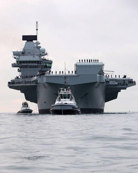 Koszt budowy okrętu to 3 mld funtów, czyli około 14 mld zł