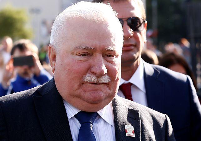 Były prezydent Lech Wałęsa.