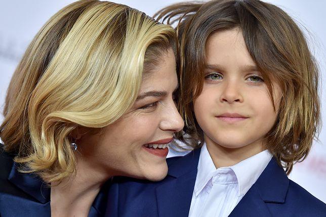 Selma Blair z synkiem Arthurem