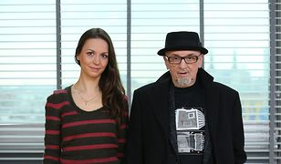 Tomasz Stańko z córką