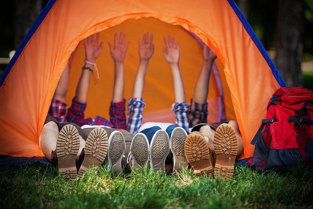 Duże namioty są w stanie pomieścić nawet 10 osób