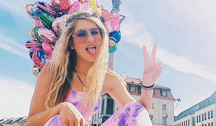 """Madzia z """"Big Brothera"""" założyła skrzydła na festiwal"""