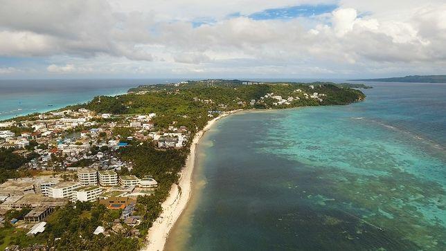 Przywódca kraju Rodrigo Duterte podjął radykalne kroki i zamknął popularną wyspę Boracay na okres 6 miesięcy