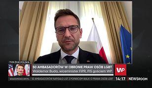 """List ambasadorów ws. LGBT. Waldemar Buda krytykuje Albanię. """"To jest niepoważne"""""""