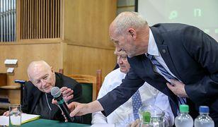 Antoni Macierewicz i Theodore McCarrick na sympozjum: Obecne i przyszłe wyzwania w zakresie bezpieczeństwa