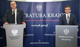 Bogdan Święczkowski, zastępca prokuratora generalnego, i Zbigniew Ziobro