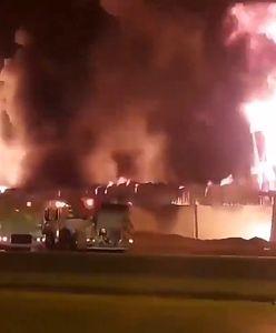 Syria. Eksplozja w rafinerii w Hims. Olbrzymi pożar
