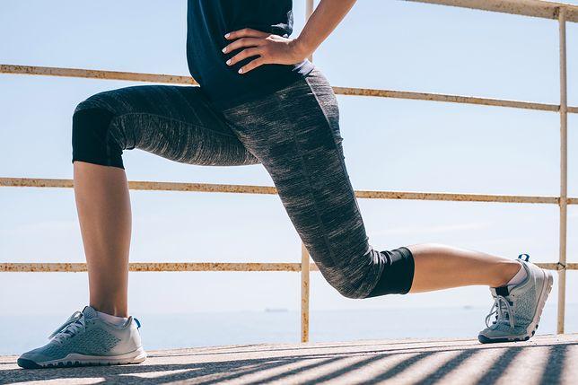 Wykroki to jedno z najpopularniejszych ćwiczeń na nogi