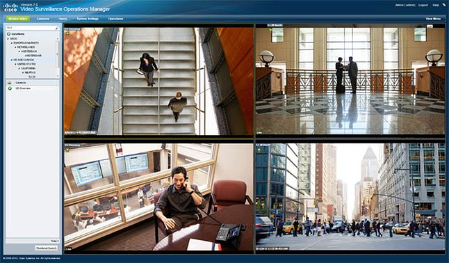 Interfejs Cisco VSM, fot. Materiały prasowe