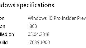 Po kilku tygodniach samych poprawek w Skip Ahead wreszcie pojawiły się jakieś nowości, czyli Windows 10 w kompilacji 17639