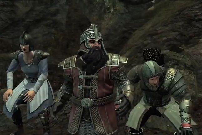 Screenshot z gry Władca Pierścieni: Wojna na Północy