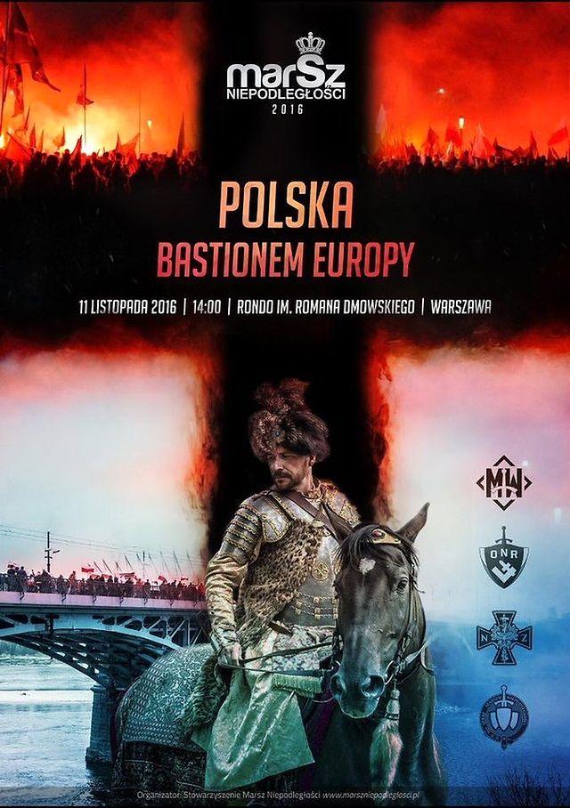 Polska bastionem Europy: plakat wyjątkowo został dozwolony na Facebooku