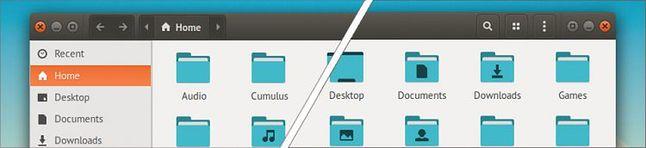 Od przycisków z lewej do przycisków z prawej: nawyki po latach trudno zmienić (źródło: OMGbuntu)