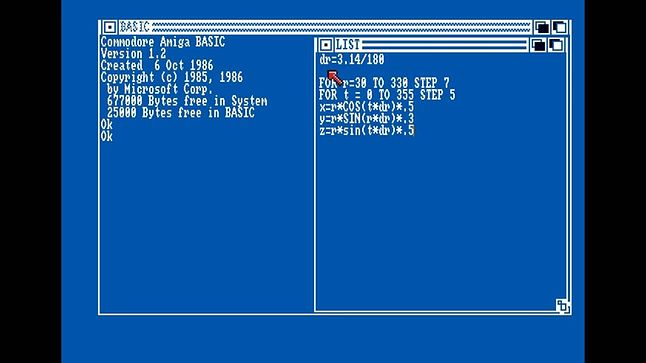 Microsoft Amiga BASIC