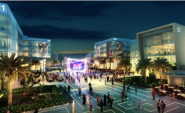 Smartżycie w smartmieście według projektantów z Dubaju (źródło: arabianbusiness.com)