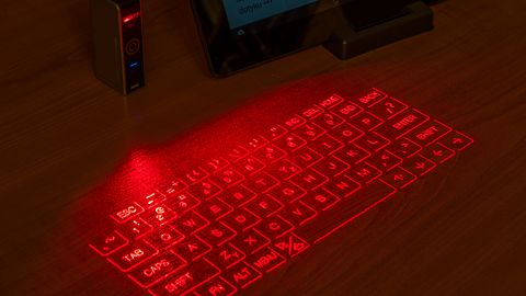 Epic Mobile Projection Keyboard — Lasery, lasery, lasery!