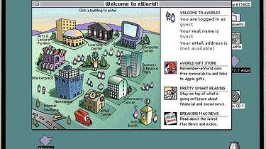 Zaginiony eWorld Apple - eWorld uruchomiony na PowerMac 61xx