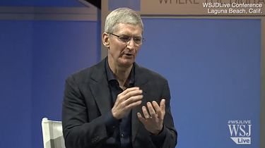 Tim Cook zdradza sekrety Apple na konferencji WSJ.D
