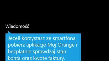 Orange zapomniał o moim Orange