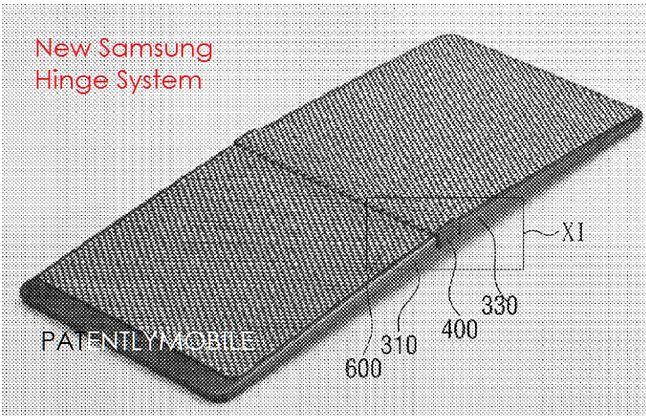 Patent złożony przez Samsunga w 2015 roku.