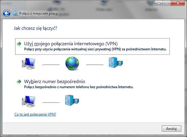 Połączenie VPN w Windows 7 po PPTP – dziś już niebezpieczne