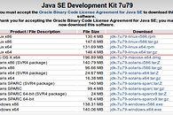 Java + Linux = <3 — tworzymy środowisko programistyczne na Debianie - Jak widać JDK można pobrać na dowolną platformę systemową