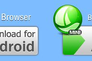 Przeglądarki mobilne też wiele potrafią: Boat Browser – czy płynie z nami kapitan? - Loga obu wersji (źródło: http://www.boatmob.com/)