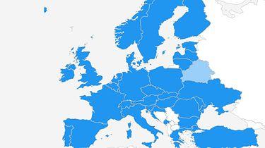 Internet bez granic - Mapa zasięgu