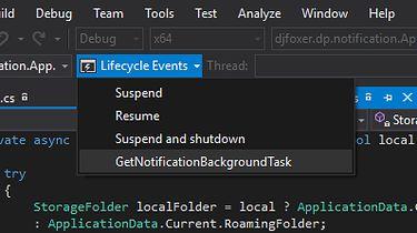 Zadania działające w tle w Universal Windows Platform