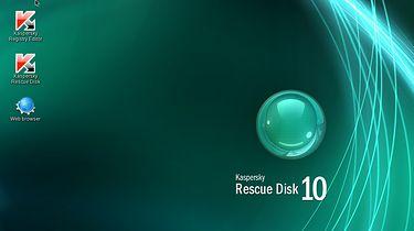 Kaspersky Rescue Disk czyli jak Linux z KDE ratuje Windowsa