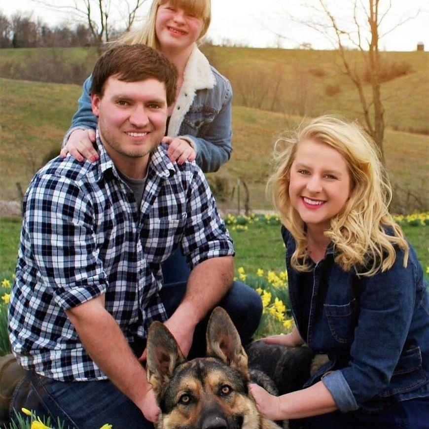 Will Seaton i Ashley i Hannah Schaus