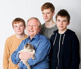 Brytyjczyk wychowuje synów samotnie. Chłopców urodziła surogatka