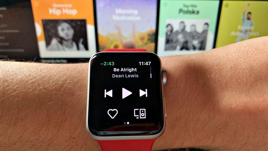 Sprawdziliśmy Spotify na Apple Watchu. Aplikacja w tym wydaniu rozczarowuje