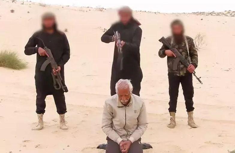 Przerażające nagranie z Egiptu. ISIS ostrzega chrześcijan