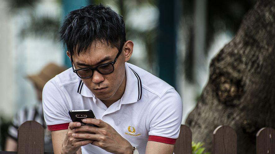 Chiny, smartfon