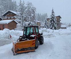 Śnieżny armagedon w Europie. Rekordowe opady białego puchu [ZDJĘCIA]